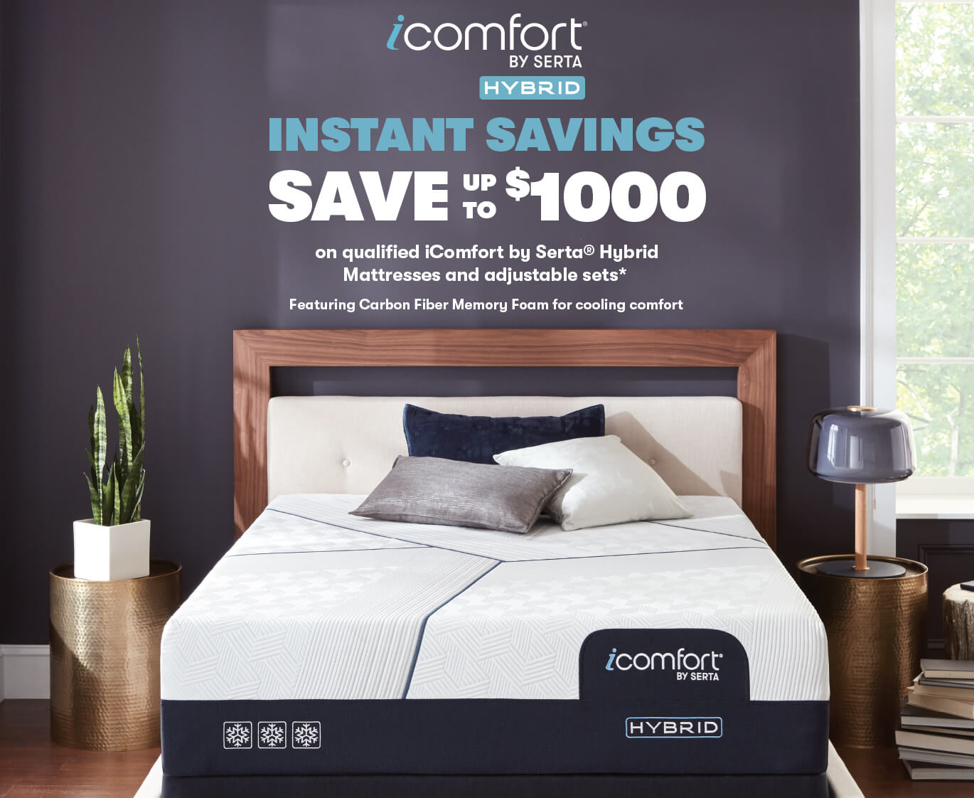 Serta iComfort Hybrid Memorial Day Savings